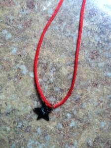 shrinky dink necklace